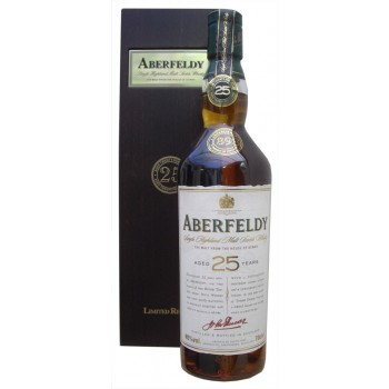 Aberfeldy 25 Year Old Limited Release Single Malt Whisky