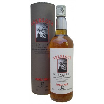 Aberlour Glenlivet 12 Year Old Single Malt Whisky