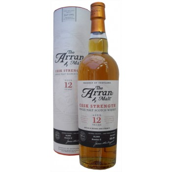 Arran 12 year Old Cask Strength Batch 4 Single Malt Whisky