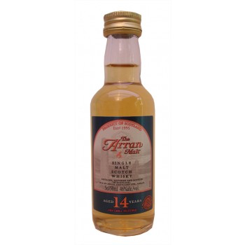 Arran 14 year Old 5cl Single Malt whisky