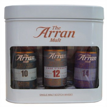Arran Miniature Gift Pack Single Malt Whiskies
