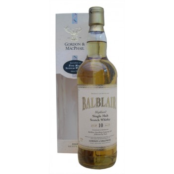Balblair 10 Year Old Single Malt Whisky 35cl