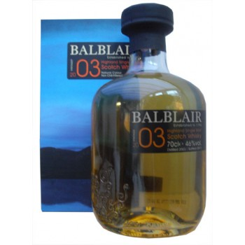 Balblair 2003 1st Release Single Malt Whisky