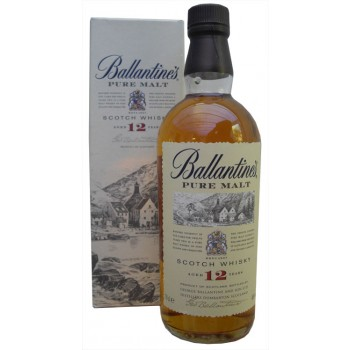 Ballantines 12 Year Old Pure Malt  Whisky