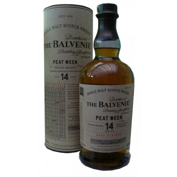 Balvenie 2002 14 Year Old Peat Week Batch 1 Single Malt Whisky