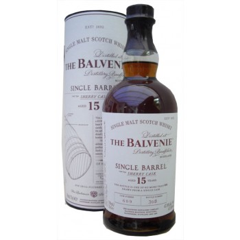 Balvenie 15 Year Old Single Barrel Sherry Cask Single Malt Whisky