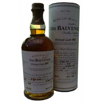 Balvenie 1967 Vintage Cask Single Malt Whisky