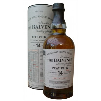 Balvenie 2003 14 Year Old Peat Week Batch 2 Single Malt Whisky