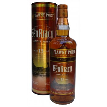 Benriach 15 Years Tawny Port Finish Single Malt Whisky