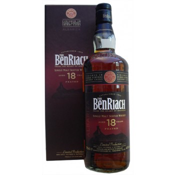 Benriach 18 Year Old Albariza Single Malt Whisky