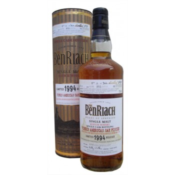 Benriach 1994 19 Year Old Virgin American Oak Limited Release Single Malt Whisky