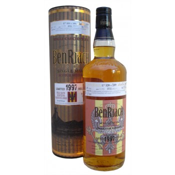 Benriach 1997 14 Year Old Kings Royal Hussars Single Malt Whisky