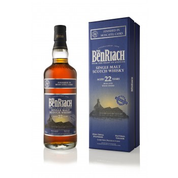 Benriach 22 year Old Moscatel Finish Single Malt Whisky
