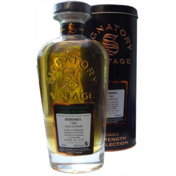 Benrinnes 1995 20 Year Old Single Cask Single Malt Whisky