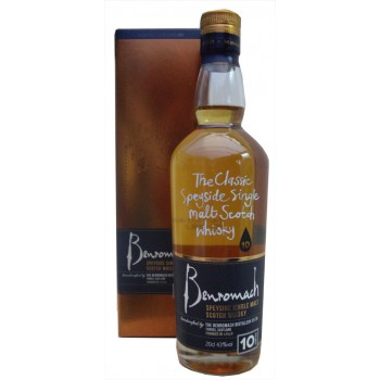 Benromach 10 Year Old 20cl Single Malt Whisky