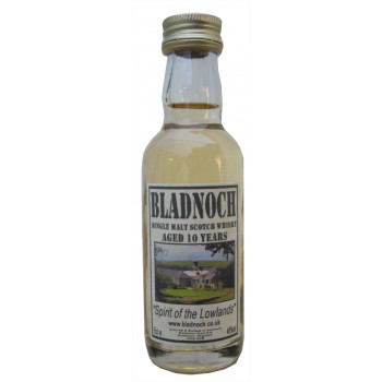 Bladnoch 10 Year Old 5cl Single Malt Whisky