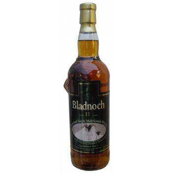 Bladnoch 11 Year Old Lightly Peated Sherry Matured Single Malt Whisky