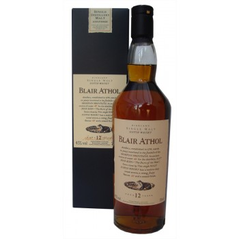 Blair Athol 12 Year Old Single Malt Whisky Flora & Fauna Series