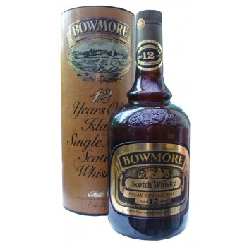 Bowmore 12 Year Old 1 litre 1980s Bottle Single Malt Whisky