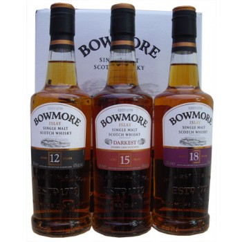 Bowmore Classic Collection 3 x 20cl Malt Whisky