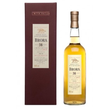 Brora 38 Year Old 2016 Release Single Malt Whisky