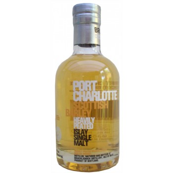 Bruichladdich Port Charlotte Scottish Barley 20cl single Malt Whisky