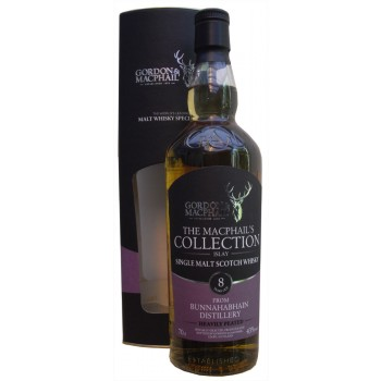 Bunnahabhain 8 Year Old Heavily Peated Single Malt Whisky