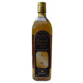 Bushmills 1975 Millenium Malt Single Cask Single Malt Irish Whiskey