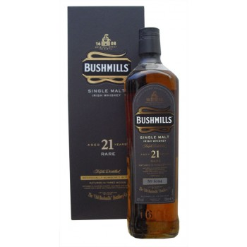 Bushmills 21 Year Old Single Malt Whiskey