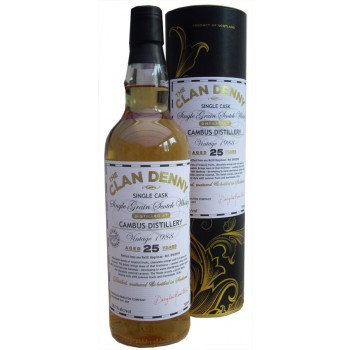 Cambus 1989 25 Year Old Single Grain Whisky
