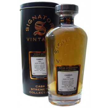 Cambus 1991 23 Year Old Single Grain Whisky