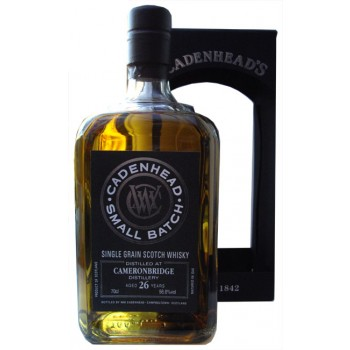 Cameronbridge 1989 26 Year Old Single Grain Whisky