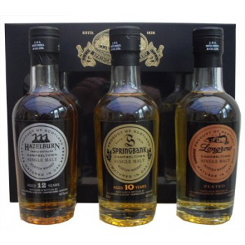 Campbeltown Malts Gift Pack 3 x 20cl