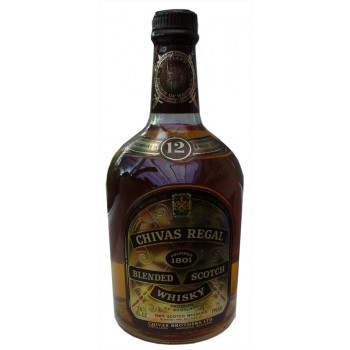Chivas Regal 12 Year Old 1970s Bottle Blended Scotch Whisky