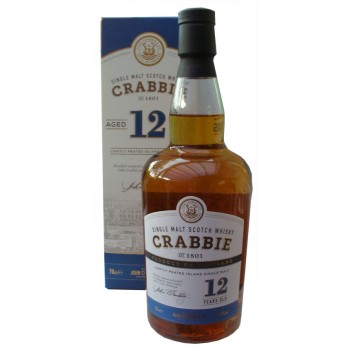 Crabbie 12 Year Old Single Malt Whisky
