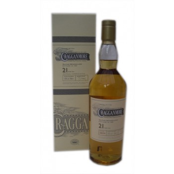 Cragganmore 1989 21 Year Old 2010 Release Single Malt Whisky