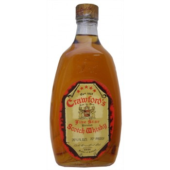 Crawfords Five Star Whisky