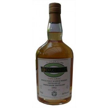 Springbank Da Mhile 1992 7 Year Old Organic Single Malt Whisky