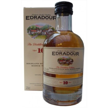 Edradour 10 Year Old 20cl Single Malt Whisky