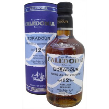 Edradour 12 Year Old Caledonia Single Malt Whisky