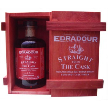 Edradour 2002 13 Year Old Burgundy Cask Finish Single Malt Whisky