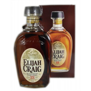 Elijah Craig 12 Year Old Bourbon Whiskey