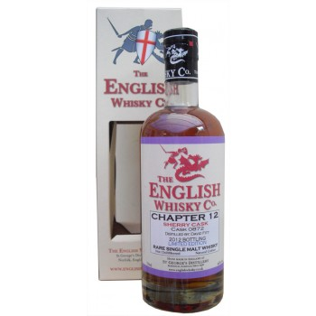 St Georges English Whisky Chapter 12 Single Malt Whisky