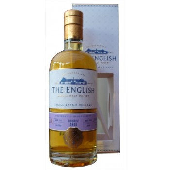 English Whisky Double Cask Small batch Release Single Malt Whisky