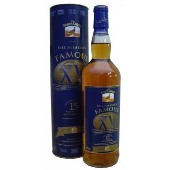 Famous Grouse XV 15 Year Old Bill McLaren's Famous 15 Blended Whisky