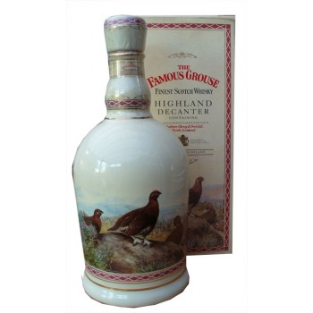 Famous Grouse Ceramic Decanter Blended Whisky