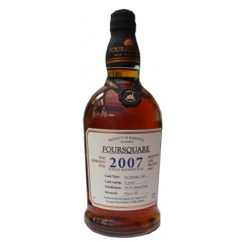 Foursquare 2007 Cask Strength Barbados Rum