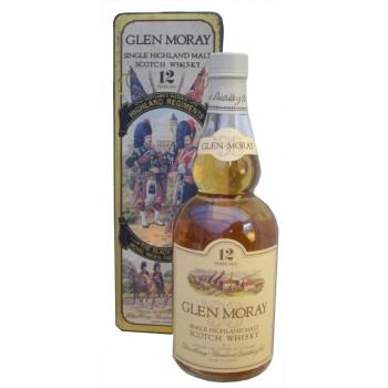 Glen Moray 12 Year Old The Black Watch Single Malt Whisky