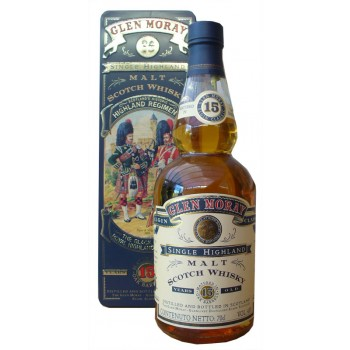 Glen Moray 15 Year Old The Black Watch Single Malt Whisky