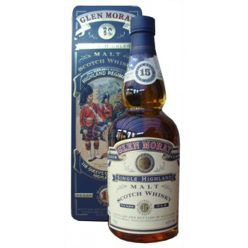 Glen Moray 15 Year Old The Queens Own Cameron Highlanders Single Malt Whisky